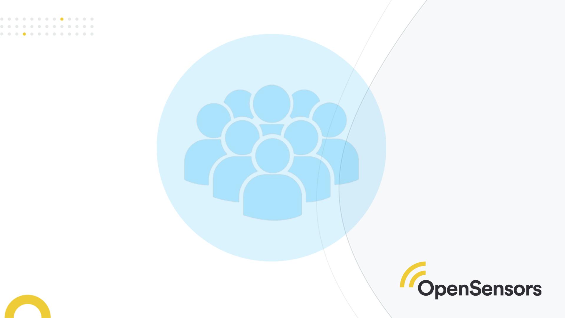 OpenSensors - employee UX