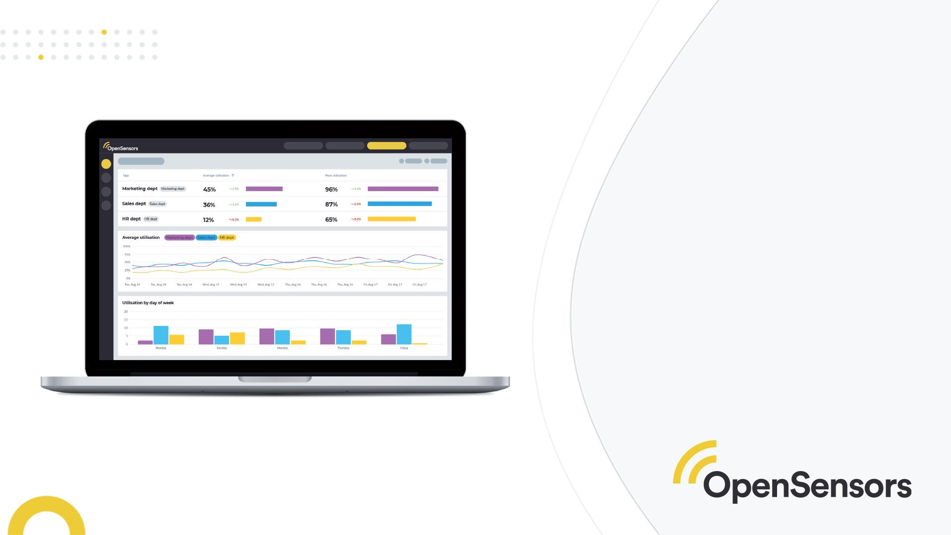 OpenSensors - workplace data analytics